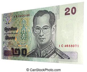 baht -  20 baht note