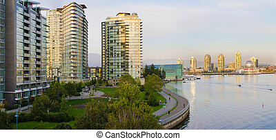 Waterfront Living in Vancouver BC - Waterfront Living Along...