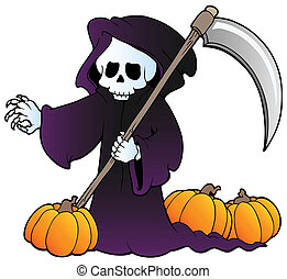 Halloween character image 3 - vector illustration
