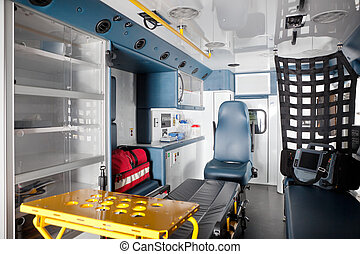 Ambulance Interior