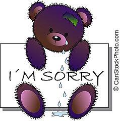 I?m sorry