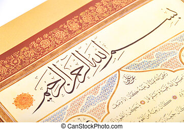 islámico, caligrafía