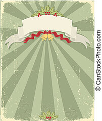 Vintage christmas background for design - Vintage christmas...