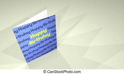 Greetings Card Happy Birthday HD