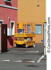 Scissor lift - Aerial work platform for maintenance and...