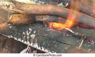 bonfire 3 - fire burns