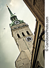 Alte Peter Munich - An image of the Alte Peter church in...