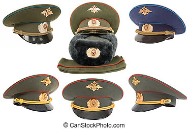 Russian Military Officer Cap - The Russian army hats