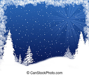 Beautiful background Christmas (New Year) card .
