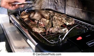 Lamb-hot from the grill - Full HD video clips