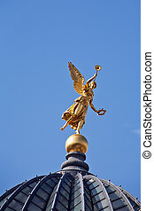 statue of the angel