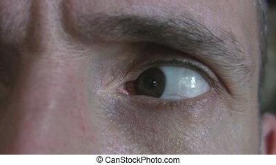 Paranoid eye.