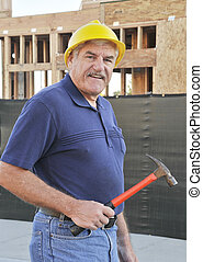 Mature Construction Worker