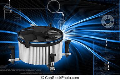 Processor fan