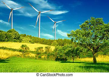 Wind energy zone