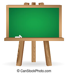green school board - School board. Education concept...