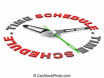 time schedule planning tasks in agenda setting goals and...