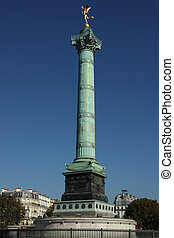 July Column Paris - he July Column is a monument to the...