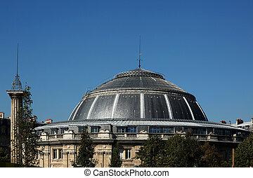Bourse de commerce de Paris - the Bourse of commerce in...
