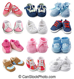 Baby shoes collection