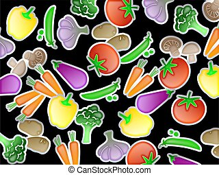Vegetable Wallpaper