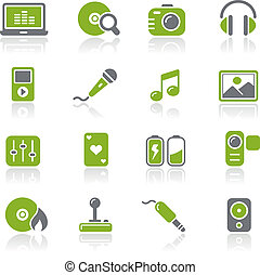 Media & Entertainment / Natura - Vector icons for your...