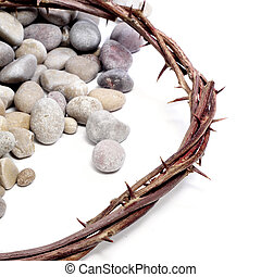 crown of thorns - the crown of thorns of Jesus Christ