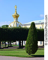 View of Petergof, St.Petersburg