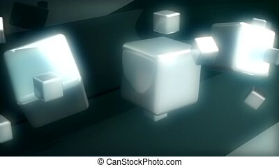 Large and small cubes