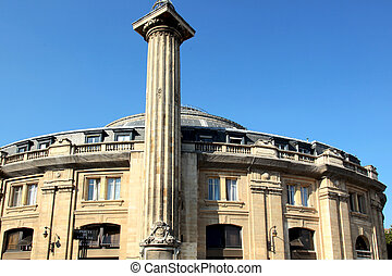 Bourse de commerce de Paris - the Bourse of commerce in...