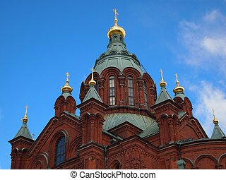 Uspensky Cathedral in Helsinki