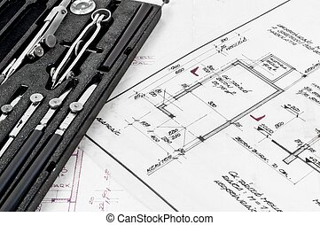 Tools and construction plans as a business background