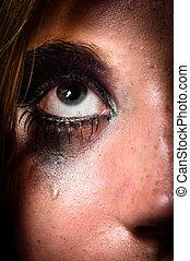 Tears of a girl