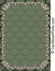 Vintage tapestry background Vector