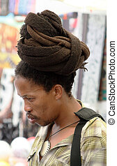 Black Man With a Rasta