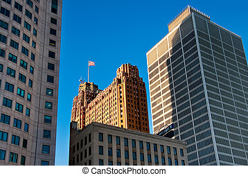 Detroit Architecture - Downtown Detroit