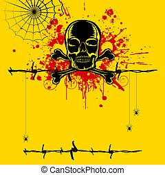 Grungy Skull