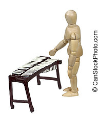 tocando, Marimba