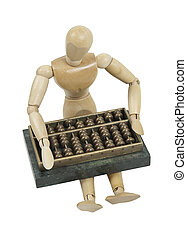 Making Calculations on Abacus