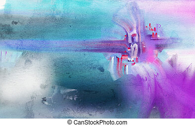 Abstract watercolor hand painted by me Nice background for...