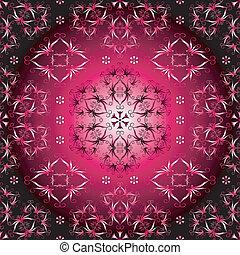 Seamless purple pattern