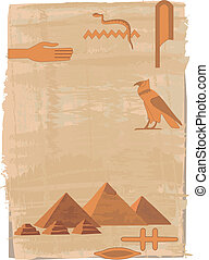 Pyramids and Hieroglyphs