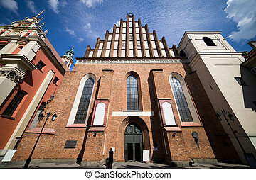 St John Archcathedral in Warsaw - Gothic style Archcathedral...