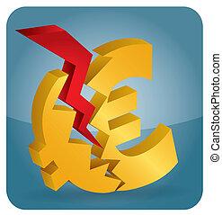 Euro crash?