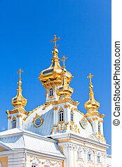 Russia, Petrodvorets-   Peterhof Palace