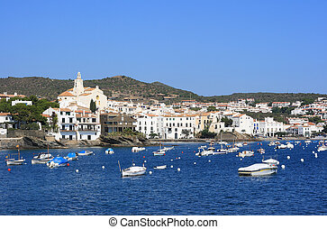 Cadaques (Costa Brava, Spain) - The beautiful village of...