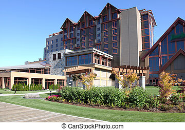 River Rock casino in Richmond BC, Canada. - River Rock...