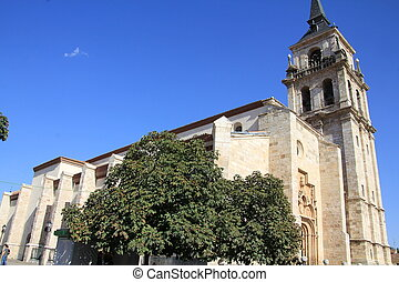 Church of Alcala de Henares, Spain