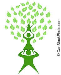 green tree family