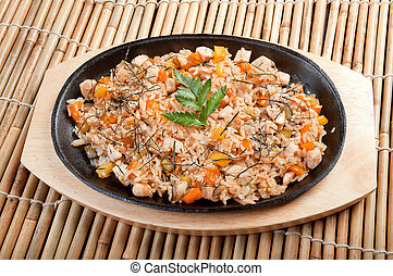 Chinese food - chinese cuisine .Chinese food